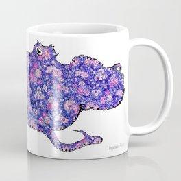 Floral Octopus  Coffee Mug