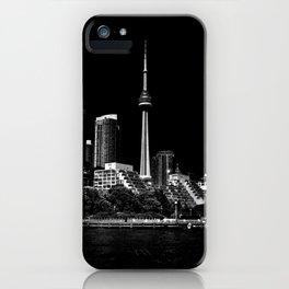CN Tower From Bathurst Quay Toronto Canada iPhone Case