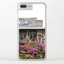 Ole Country Store Clear iPhone Case