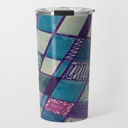 Square Biz Drawing  Travel Mug