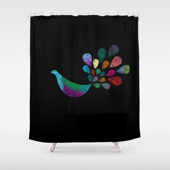 Color 5 Shower Curtain