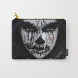 The Lady of Darkness Carry-All Pouch