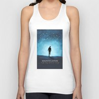 fault in our stars Tank Tops featuring The Fault In Our Stars by MalenaTotland
