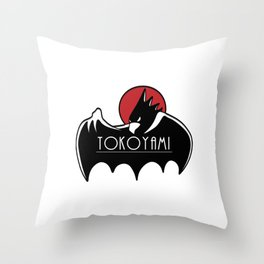 Tokoyami Throw Pillow