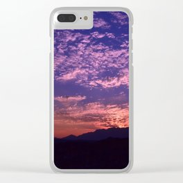 SW Mountain Sunrise - II Clear iPhone Case