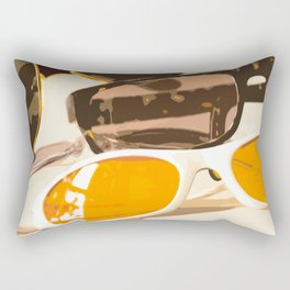 Let the sun shine - welcome spring and summer! Rectangular Pillow