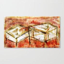 Qubik Canvas Print