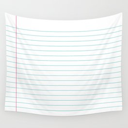 Notepaper Wall Tapestry