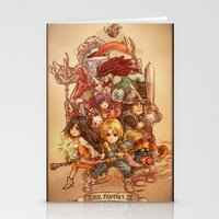 final fantasy Stationery Cards featuring Final Fantasy IX by Dice