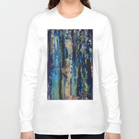 labyrinth Long Sleeve T-shirts featuring Labyrinth by Robert Horvath