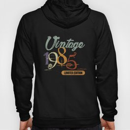 1985 Vintage Birthday Shirt for Men and Women Hoody