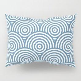 Scales - Blue & White #453 Pillow Sham