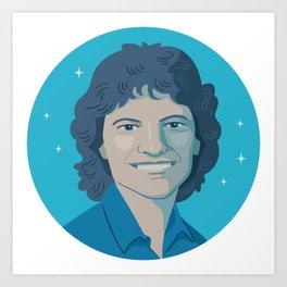 Sally Ride Art Print