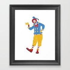 RonaldMcDonaldDuck Framed Art Print