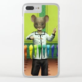Xylophone Clear iPhone Case