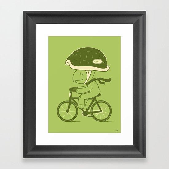 Safety First Framed Art Print