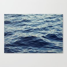 Water Waves Canvas Print