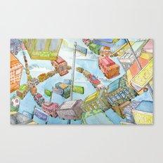 The Metro Mix Canvas Print