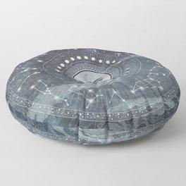 The Principle of Rhythm Floor Pillow