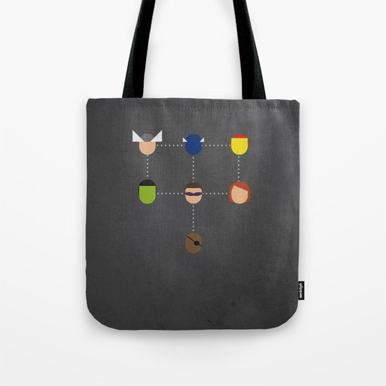 The advengers Capsules Tote Bag