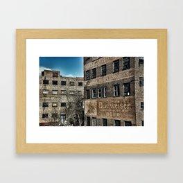 Old Industry Framed Art Print