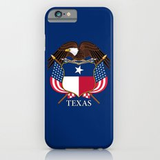 Texas flag and eagle crest - original concept and design by BruceStanfieldArtist iPhone 6s Slim Case