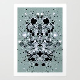 WinterWalk Art Print