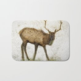Grand Canyon Elk No. 2 Wintered Bath Mat