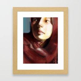 Amira Framed Art Print