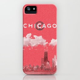 Chicago - Red iPhone Case