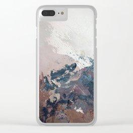 Painting Art Yoga Landscape II Clear iPhone Case