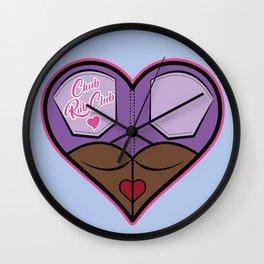 Chub Rub Club (I) Wall Clock