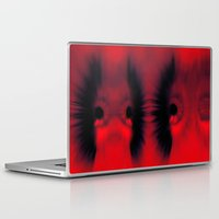 all seeing eye Laptop & iPad Skins featuring EYE AM All Seeing by Eye Am