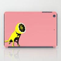 lemon iPad Cases featuring lemon by Ali GULEC