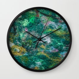 Felt Aurora Wall Clock