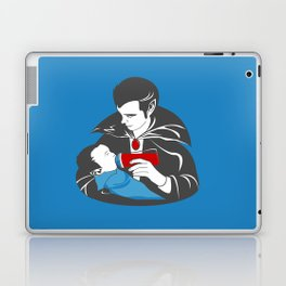 The Curious Case of a Baby Vampire Laptop & iPad Skin