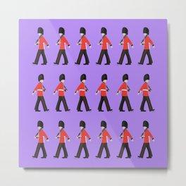 Queens Guard Marching Metal Print