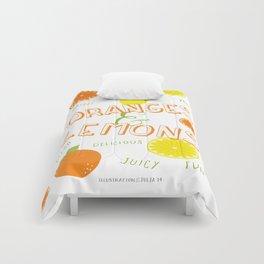 Oranges & Lemons Comforters