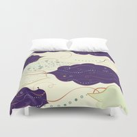 celestial Duvet Covers featuring Celestial by Grace Anne