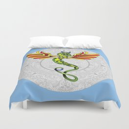 Quetzalcoatl Knot Duvet Cover