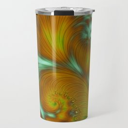 Fall Leaves Autumn Sky Travel Mug