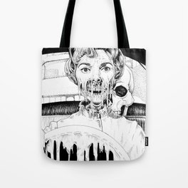 Psycho Melt Tote Bag