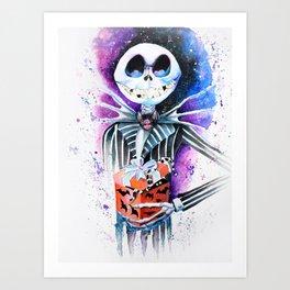 Jack Skellington  Art Print