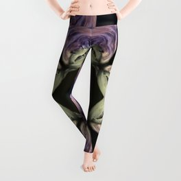 Crazy Shark Lady - Crazy Shark - Ocean Life - Fish - Marine life Leggings