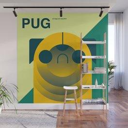 PUG Wall Mural