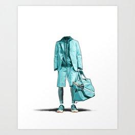 Milan Fashion Week Highlight: Z Zegna Art Print