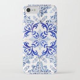 Azulejo VIII - Portuguese hand painted tiles iPhone Case