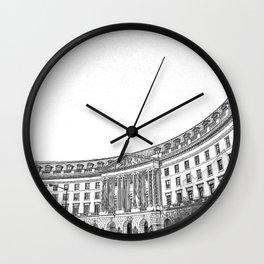 Ariel Rios Federal Building. Wall Clock