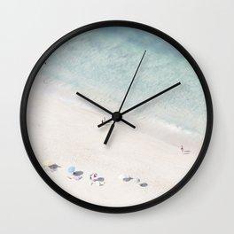 Summer Seaside Wall Clock