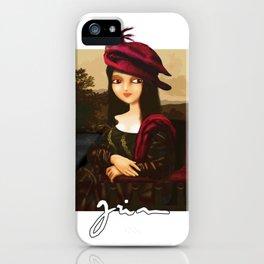 My Gioconda iPhone Case